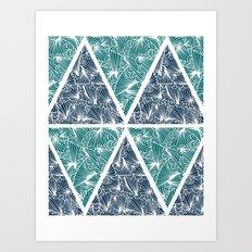 Geometric Paradise Art Print