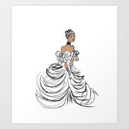 I'm Lilly Royal Art Print
