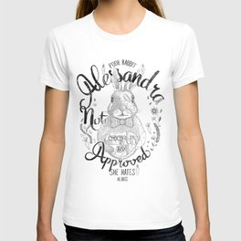 Alessandra not approved_Bunny T-shirt