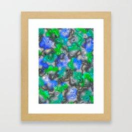 Moire Framed Art Print