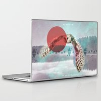 watchmen Laptop & iPad Skins featuring The Night Watchmen by Alex