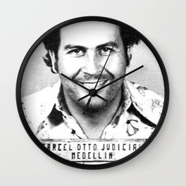 The King Of Cocaine Wall Clock