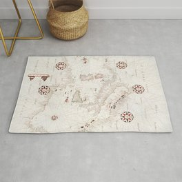 Portolan atlas of the Mediterranean Sea western Europe and the northwest coast of Africa Central Med Rug