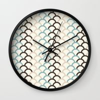 scales Wall Clocks featuring Scales by Zen and Chic
