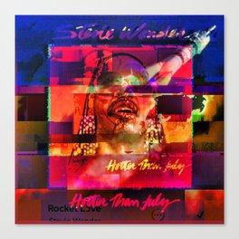 Very Super Stevie Canvas Print