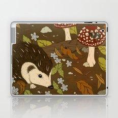 Woodland critters (sepia tone) Laptop & iPad Skin