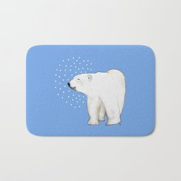 Polar Bear #8 Bath Mat