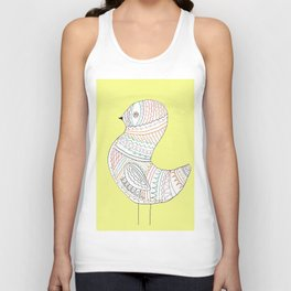 GOLDEN BIRD TWO Unisex Tank Top