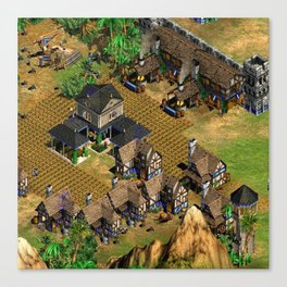 age of empires 2 Canvas Print