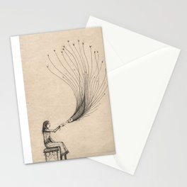 Dreams will help us be friends Stationery Cards