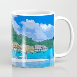 A Memorable Summer Vacation Coffee Mug