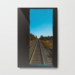 Let's go on a trip Metal Print