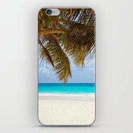 Window on the beach iPhone Skin