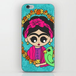 Little Parrot Friend iPhone Skin