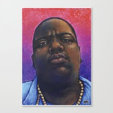 Biggie Smalls, The Notorious BIG - Hip Hop Art Print Canvas Print