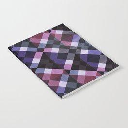 Retro Box Pattern Small Notebook
