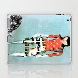 Girl with Snail Laptop & iPad Skin