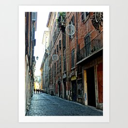 ohh Rome Art Print