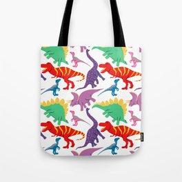 Dinosaur Domination - Light Tote Bag