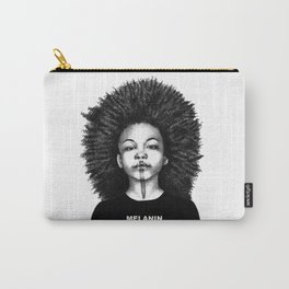 Melanin Poppin Carry-All Pouch