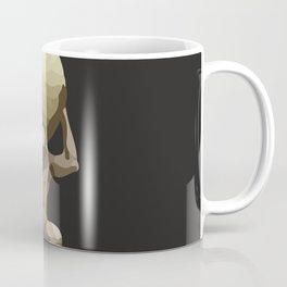 Man with Big Ball Illustration dark grey Coffee Mug