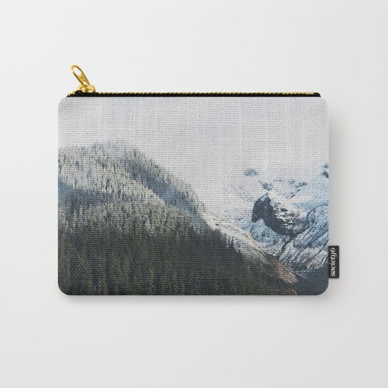 Mount Rainier Winter Valley Carry-All Pouch