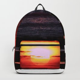 As the Sun goes down Backpack