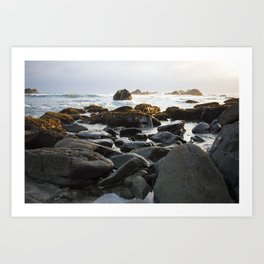 Tide Pools Art Print