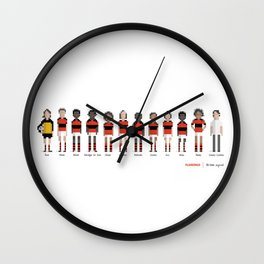Flamengo - All-time squad Wall Clock