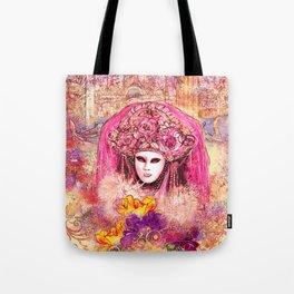 Golden Venice Tote Bag