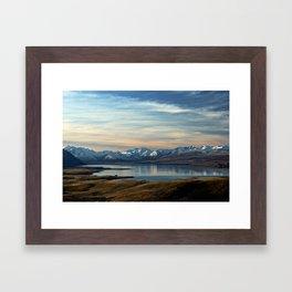 Lake Tekapo, New Zealand Framed Art Print