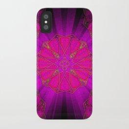 Boho Inner Light Pink iPhone Case