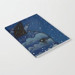 LUNA CAT by Raphaël Vavasseur Notebook
