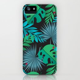 Tropical Camouflage iPhone Case