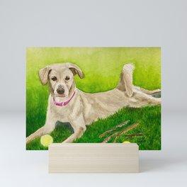 Beautiful Sage Mini Art Print