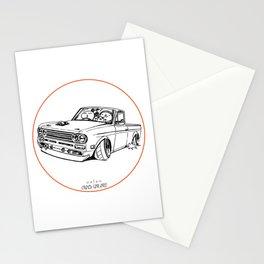 Crazy Car Art 0188 Stationery Cards