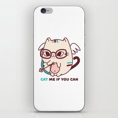 Cat Me If you Can! iPhone Skin