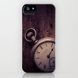 Stopping Time iPhone Case