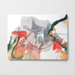 Geometric Fog Metal Print