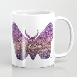 'Moth' Pink Colour Coffee Mug