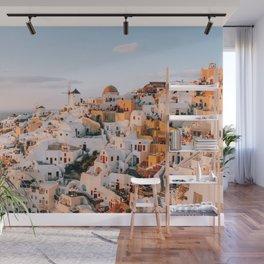 Dreaming at Dusk | Santorini, Greece Wall Mural