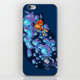 Creating the universe is fun! iPhone Skin