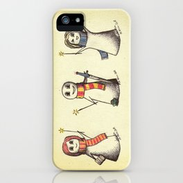 The Silver Trio iPhone Case