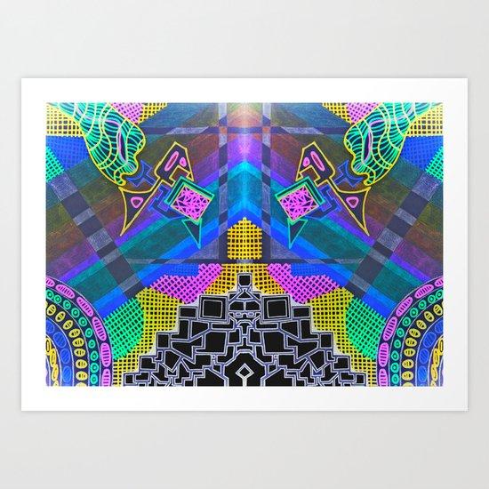 Abstract 2B Art Print