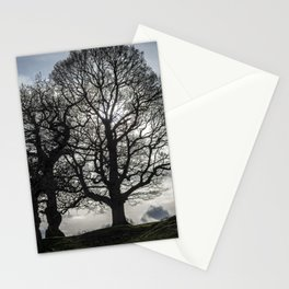 Tree Silhouettes Stationery Cards