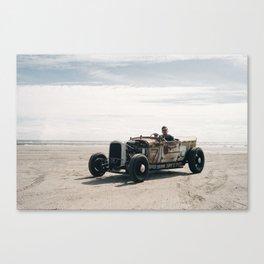 The Race of Gentlemen 14 Canvas Print