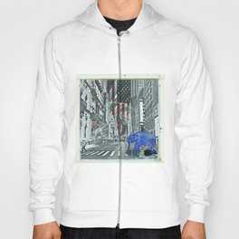 Elephant in New York Picture Hoody