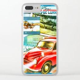 Transport Vehicles Souvenir Clear iPhone Case