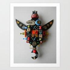 Crow (Victory) Art Print