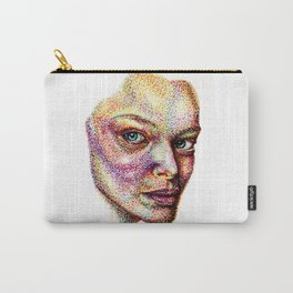 Face Pointed Out Carry-All Pouch